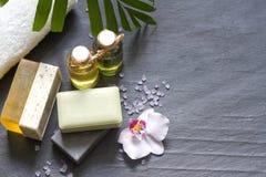 Kosmetyki dla ciało opieki i zdroju abstrakta Obrazy Stock