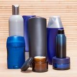 Kosmetyki dla mężczyzna Zdjęcia Royalty Free