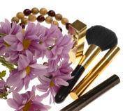 Kosmetyki i dekoracja. fotografia stock
