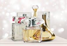 Kosmetyki, makijaż, pachnidło Zdjęcia Royalty Free