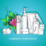 kosmetyki organicznie Zdjęcie Royalty Free