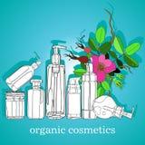kosmetyki organicznie Fotografia Royalty Free