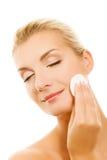 kosmetyki target1096_0_ kobiety Obrazy Stock