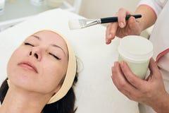 kosmetyki Twarzowa maska Obraz Royalty Free