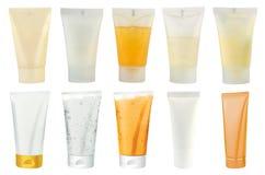 kosmetyków paczek tubki Fotografia Stock