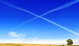 kosmiczny x Zdjęcie Royalty Free