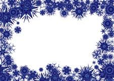 Kosmisch blauw als achtergrond Stock Fotografie
