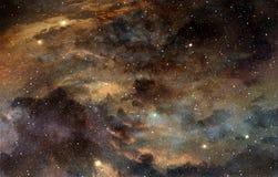 Kosmisch stof royalty-vrije illustratie