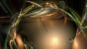 Kosmische abstracte de motieachtergrond van het draaipatroon vector illustratie