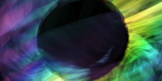Kosmische abstractie Royalty-vrije Stock Afbeelding