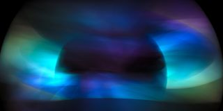 Kosmische abstractie Royalty-vrije Stock Foto's