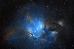 Kosmische bloem Vector Illustratie
