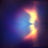 Kosmische glanzende achtergrond Stock Foto's