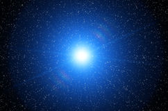 Kosmische hemel Stock Afbeeldingen
