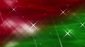 Kosmische Kerstmislijn stock footage
