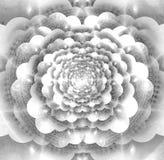 Kosmische mandala royalty-vrije illustratie
