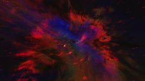 Kosmische ruimte vector illustratie