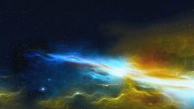 Kosmische ruimte royalty-vrije illustratie