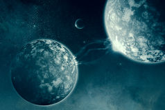 Kosmische Verbindung lizenzfreies stockbild