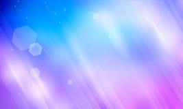 Kosmischer glänzender abstrakter Hintergrund Stockfotografie