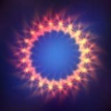 Kosmischer glänzender Hintergrund Lizenzfreies Stockfoto