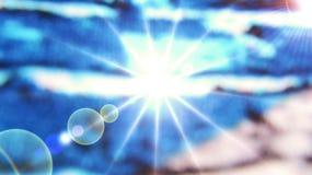 Kosmischer Hintergrund Lizenzfreie Stockfotografie