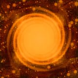 Kosmischer Hintergrund lizenzfreie abbildung