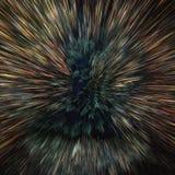 Kosmischer Hintergrund der bunten Galaxiezusammenfassung Glänzendes Fantasieuniversum Tiefer Kosmos Explodierender Stern im Raum  lizenzfreie stockbilder