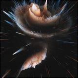 Kosmischer Hintergrund der bunten Galaxiezusammenfassung Glänzendes Fantasieuniversum Tiefer Kosmos Unendlichkeitserforschung Abb stockfotografie