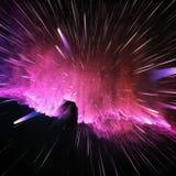 Kosmischer Hintergrund der bunten Galaxiezusammenfassung Gl?nzendes Fantasieuniversum Tiefer Kosmos Unendlichkeitserforschung Abb stockfotografie