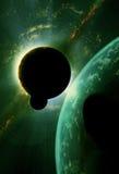 Kosmisches Ereignis Stockbilder