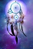 kosmisk dreamcatcher Royaltyfri Foto