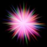 kosmisk explosion Arkivfoto