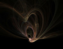 kosmisk fantasi mig Fotografering för Bildbyråer