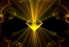 Kosmisk kraftwallpaper Royaltyfri Fotografi