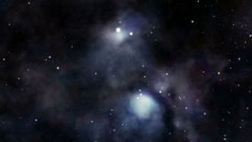 kosmisk nebula vektor illustrationer