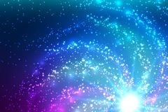 Kosmisk tapet för härlig abstrakt vektor vektor illustrationer