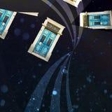 Kosmiska dörrar Royaltyfri Bild