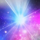 Kosmiska Starburst royaltyfri illustrationer