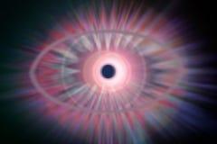 kosmiskt öga Royaltyfri Fotografi