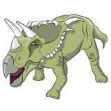 Kosmoceratopsdinosaurus Stock Foto
