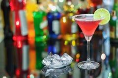 Kosmopolitische cocktail Royalty-vrije Stock Foto