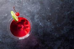 Kosmopolitische cocktail royalty-vrije stock foto's