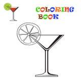Kosmopolitische cocktail Vector illustratie Stock Foto's