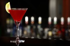kosmopolitisk drink Royaltyfria Foton