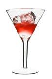 kosmopolitisk red för alkoholiserad coctail Royaltyfri Fotografi