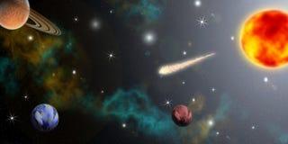 Kosmos lizenzfreie abbildung