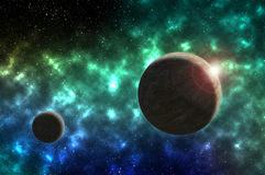 kosmos Royaltyfri Fotografi