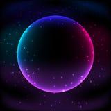 Kosmos gra główna rolę tło Obrazy Stock
