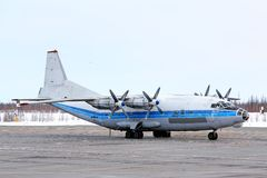 Kosmos-Luftfahrt Antonow An-12B lizenzfreie stockbilder